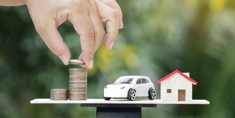 Sjekk om du bør bake billånet inn i boliglånet