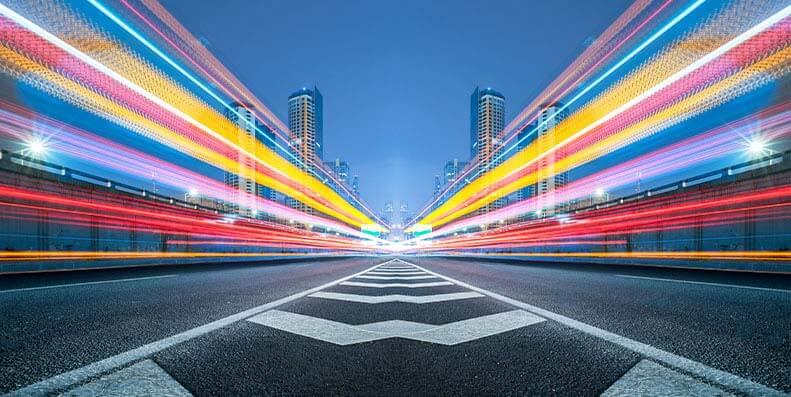 Internett i lysets hastighet