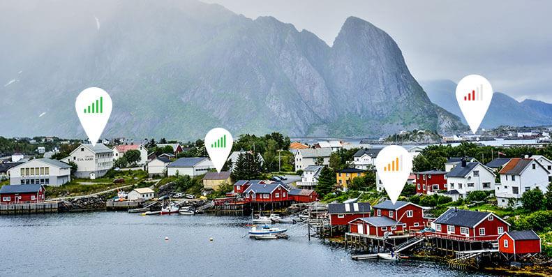 Dette er Norges beste trådløse bredbåndet i april 2021